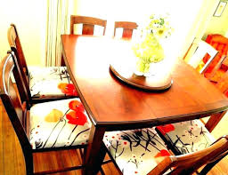 dining room chair seat cushion covers cushions chairs pads leather kitchenaid appliances