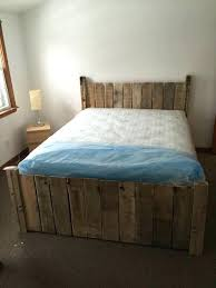 diy twin platform bed. Homemade Platform Bed Pallet Diy With Storage And Steps . Twin E