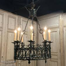 comfortable wrough iron lighting antique country french wrought iron chandelier wrought iron candle chandelier canada