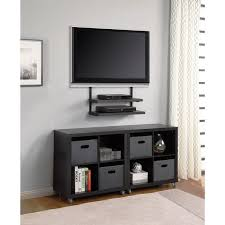 image of wall mounted flat screen tv cabinet