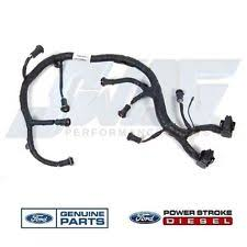 powerstroke injector harness ebay ford 6.0 diesel injector wiring harness 03 07* ford 6 0l powerstroke oem ficm fuel injector module wiring harness
