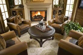 comfy brown wooden sunroom furniture paired. This Is An Elegant Sitting Room With Large Comfy Armchairs Around A Circular Ottoman Table. Brown Wooden Sunroom Furniture Paired L