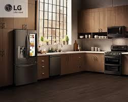 kitchenaid black stainless. lg black stainless steel series kitchenaid
