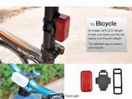 worlds smallest gps tracking device led light hidden bicycle gps
