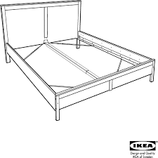 Download IKEA ASPELUND BED FRAME QUEEN Assembly Instruction for