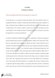 psychology of addiction essay gens psychology of addiction psychology of addiction essay