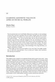 classification essay on music learning aesthetic values in african  learning aesthetic values in african musical worlds springer inside