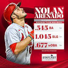 "MLB Stats on Twitter: ""Nolan Arenado ..."