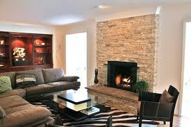 eldorado stacked stone fireplace