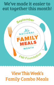 family meals month national family meals month