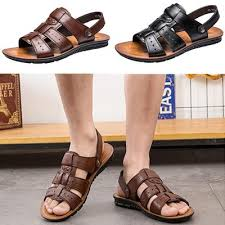 Buy <b>mens leather sandals</b> at affordable price from 11 USD — best ...