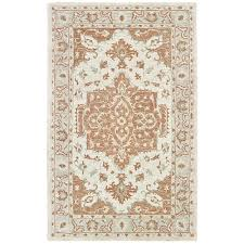 lr home modern traditions orange area rug 9 x