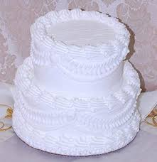Flora Cal Products 7 2 Tier Stacked Fake Wedding Cake Fake Food