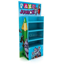 Cardboard Book Display Stand Gorgeous Cardboard Book Display Stand Retail Supermarket Paper Pallet