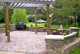 Small Picture Custom Patio Design Beauteous Patio Wall Design Home Design Ideas
