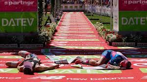 The ironman distance (140.6 miles / 226.2 kilometers) version of the race has been held since 1990, and the short distance version since 1984. Challenge Roth 2018 Kienle Gewinnt Den Rother Triathlon Oberfranke Dreitz Wird Zweiter Nachrichten Franken Br De