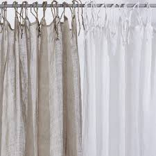 Absolutely Ideas Beige Linen Curtains 100 Linen Drapery Curtain Panel Q  Design Curtain With Brown Leaf Pattern Grommet Panels - Gordyn