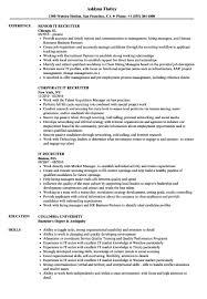 It Recruiter Resume IT Recruiter Resume Samples Velvet Jobs recruiter resume sample 1