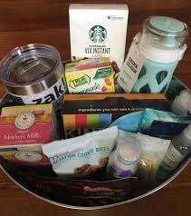 and i thought i would share our new mom survival kit gift basket in case anyone wanted some inspiration for a little something for a new mom you know