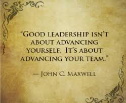 How To Be A Good Team Leader At Work Good Leadership Isnt About Advancing Yourself Its About