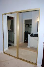 mirrored closet doors diy photo 11