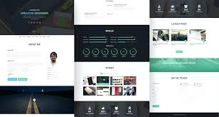 Resume Html Template Mesmerizing Best Free Resume Templates To Download Product Html Template Details