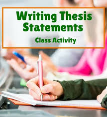 Examples of a good thesis statement for middle school ESL Energiespeicherl  sungen Best Template Collection