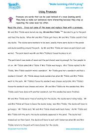 Using Pronouns - TMK Education