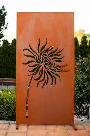 Faszinierend Metall Sichtschutz Garten Aus Ganz Individuell Tiko