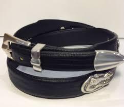 florida gators black leather belt product image