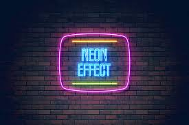 neon effect light png