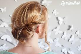Meilleur Coiffure Facile Cheveux Mi Long Headband Coloration