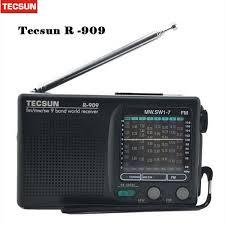 Radio 1 R B Chart Best Tecsun R 909 Radio Fm Am Sw Radio Multiband Receiver Portable Dx Local Sensitivity Y4140a Retail Wholesale Good Radio Scanner Radio