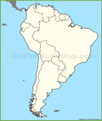 Blank Map South America Keshmiri Me