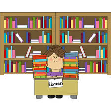 Image result for school library clip art