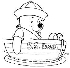 Coloring Winnie The Pooh Coloring Books