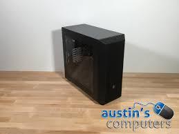 black window custom built desktop computer 1