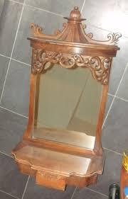 antique rococo oak wood vintage hall