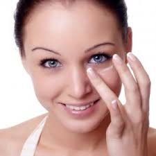 always use a gentle touch on your skin using your ring finger when putting