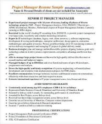 Entry Level Management Resume Examples It Entry Level Project Management Resume Entry Level