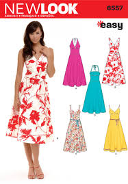 New Look 6557 Misses Dress Sewing Pattern My Pattern Stash