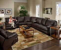 Black Leather Sectional Sofa With Recliner Sofas Wonderful Black Sectional Couch Modern Sectional Leather