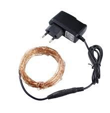 Christmas Light Adapter 2019 Christmas Lights 10m 100 Led Copper Wire Led String Light Starry Lights Power Adapter Uk Us Eu Au Plug Holiday Lights From Cnlighting 10 05