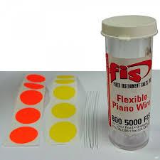 FIS F1-8265 - <b>Набор</b> проволочек для <b>прочистки</b> коннекторов (8 шт)