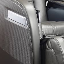massage chair for car. ogawa active massage chair graphite closeup for car