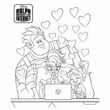Ralph Breaks The Internet Kleurplaten Leuk Voor Kids