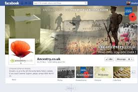 ancestry co uk releases remembrance facebook app to raise funds for royal british legion the drum