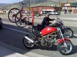 motorcycle carrying mountain bike mtbr com