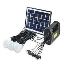 solar generator kits solar panel camping lighting portable mobile powerbank hand lamp light for emergency fishing hiking rv in solar lamps from lights