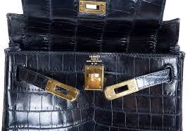 hermes kelly ado backpack. hermes shiny black nilo crocodile kelly ado backpack bag 3 l